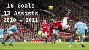 Video: Wayne Rooney / All 16 Goals and 13 Assists in 2010/2011 / Manchester United